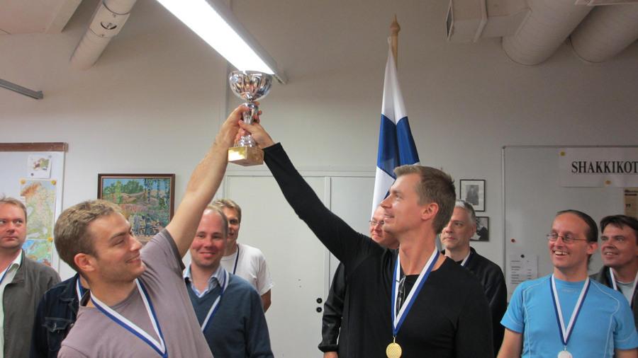 Shakkivelhot voitti Suomen Cupin