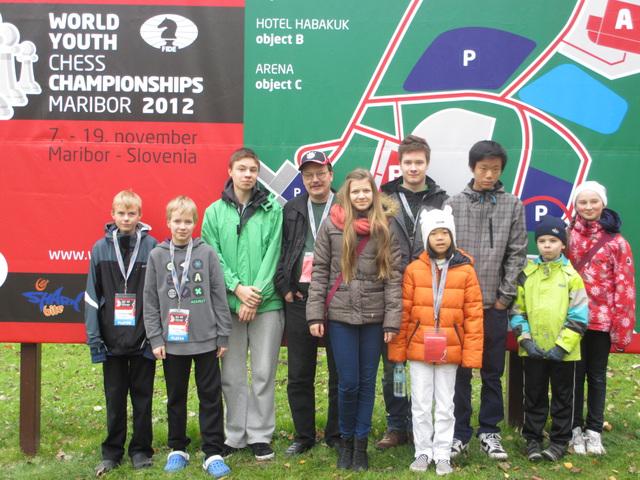 Jan Ristoja vei nopean shakin mestaruuden
