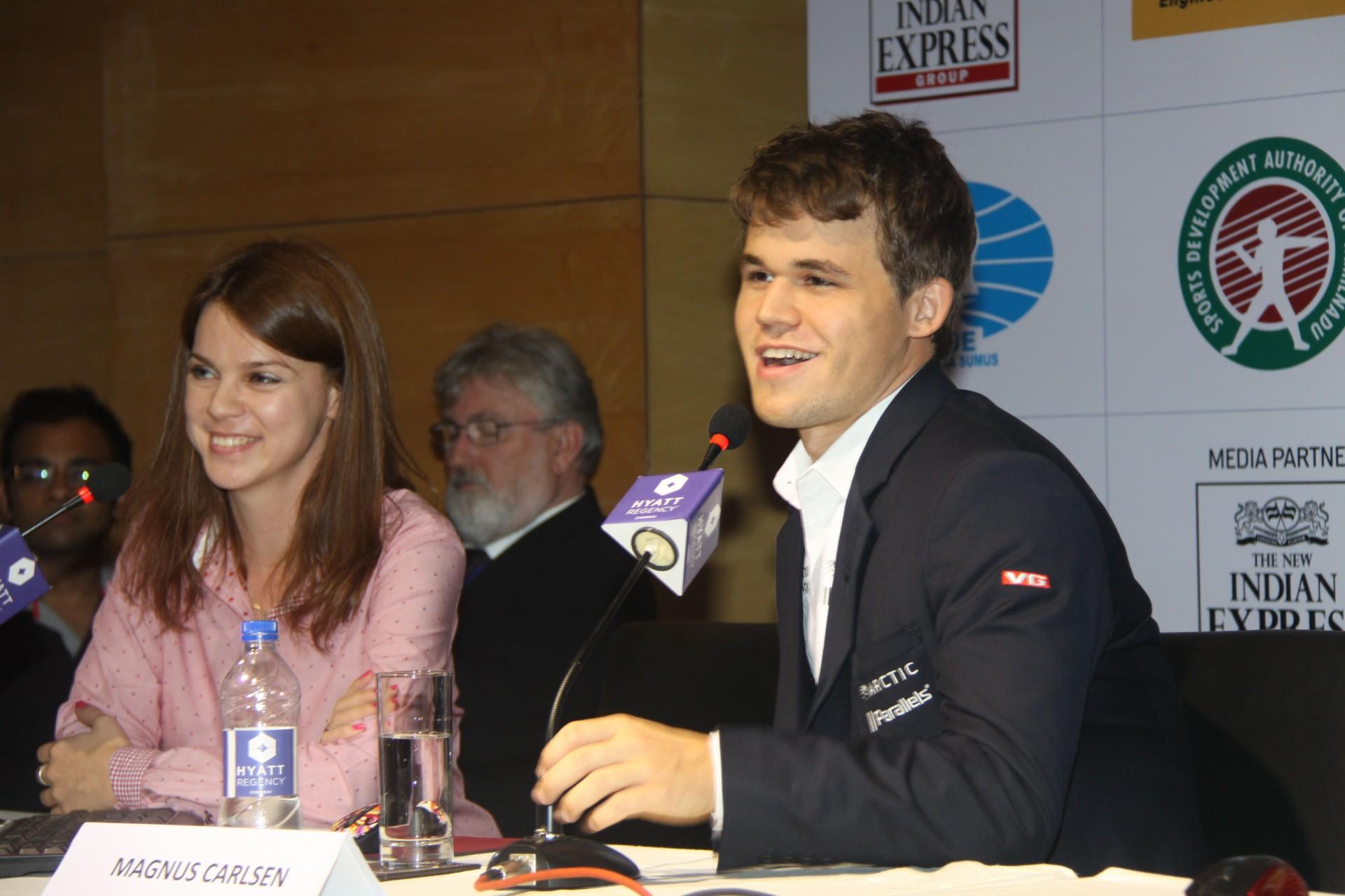 Magnus Carlsen maailmanmestariksi