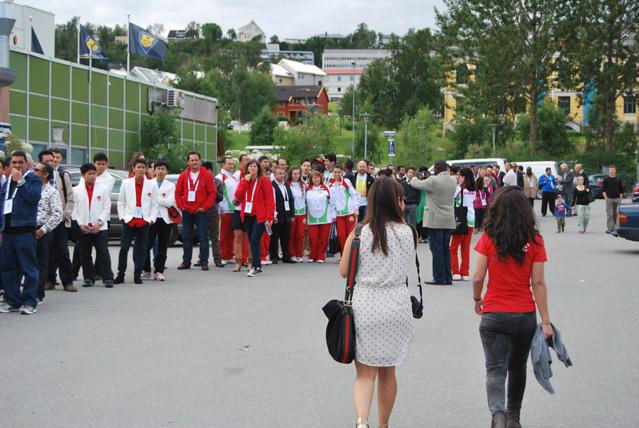 Tromssan shakkiolympialaiset alkoivat