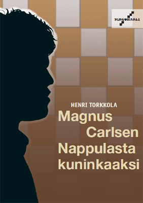 Kirja maailmanmestari Magnus Carlsenista