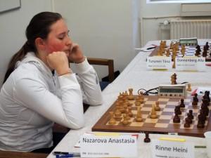 Anastasia Nazarova, naisten Suomen mestari