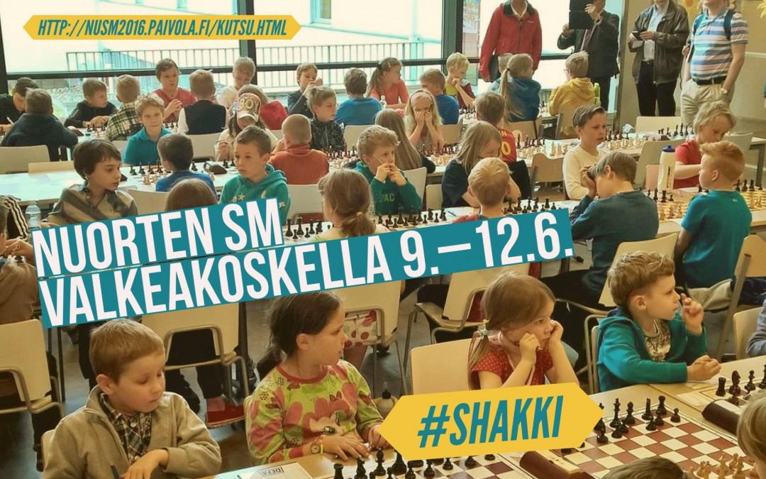 Nuorten SM Valkeakoskella 9.–12.6.