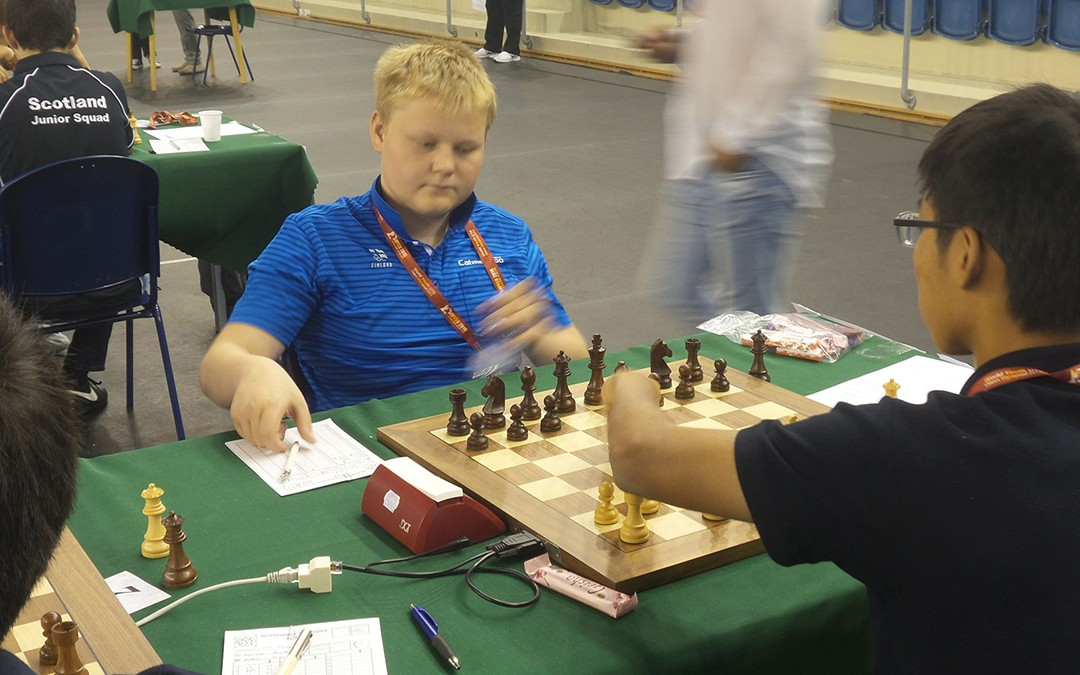 Keinäselle Fide-mestarin titteli nuorten shakkiolympialaisista