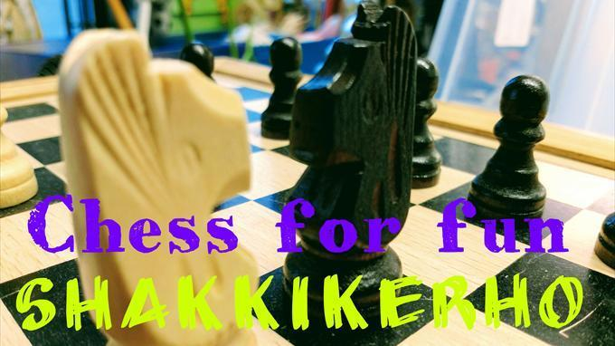 Chess for Fun – Kirjastossa!