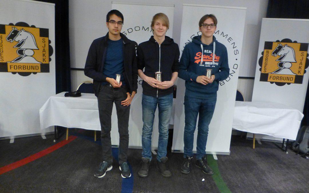 Suomalaisnuorille kolme mitalia PM-kisoista