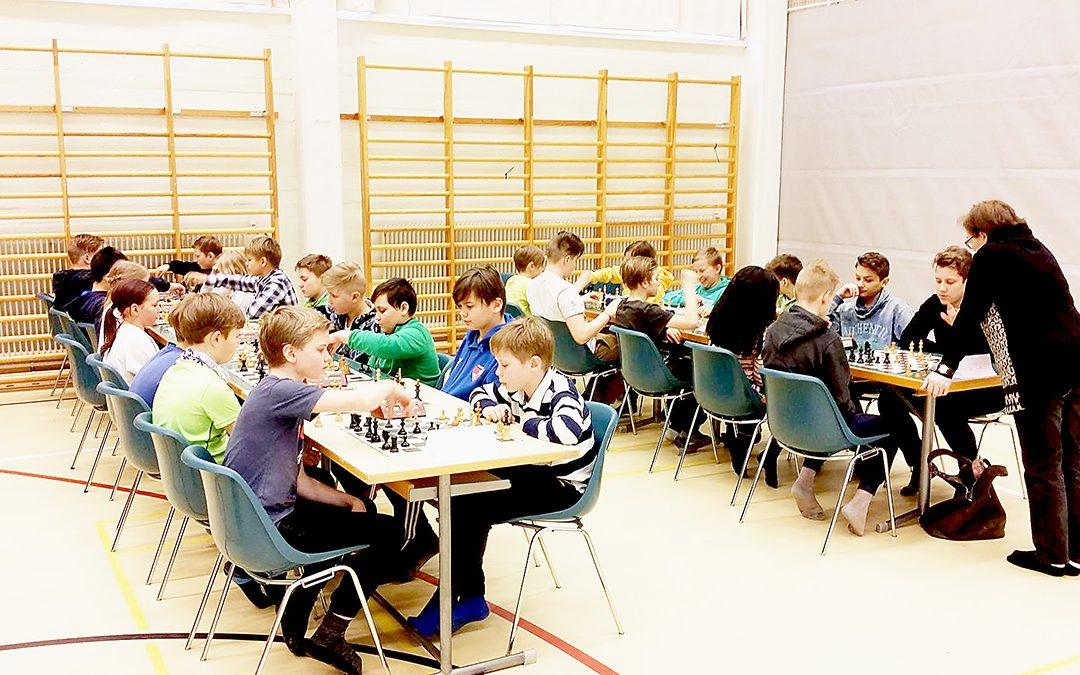 Kotkan alakoulujen shakkimestaruus