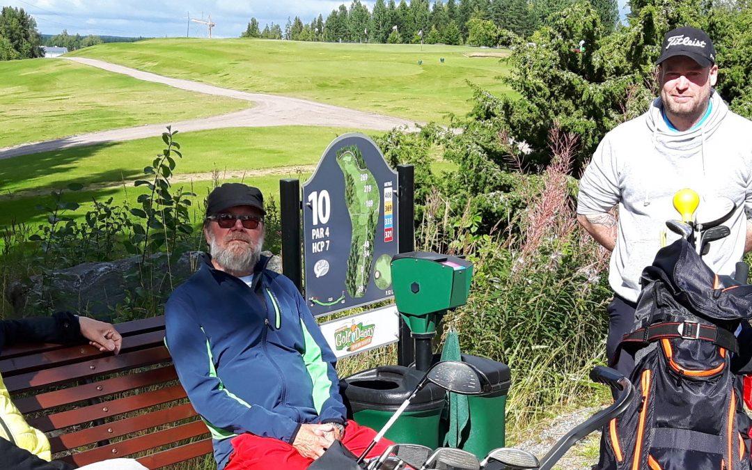 Golf-Shakin MM 27.8.2017 – turnausraportti