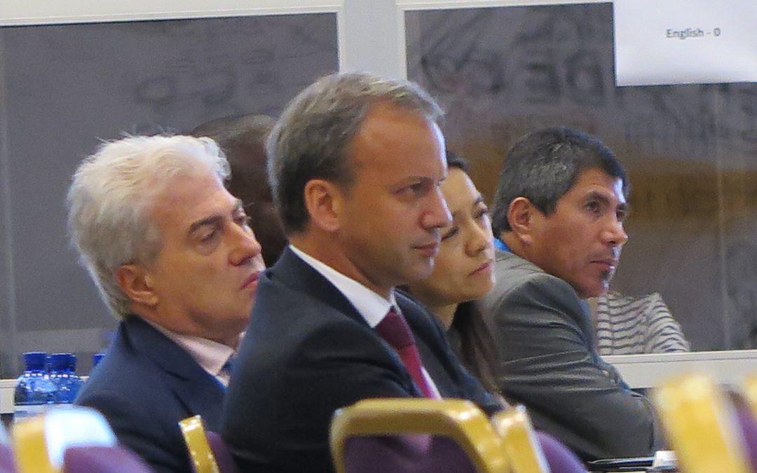 Batumin olympialaisten 9. kierros ja presidentinvaalit