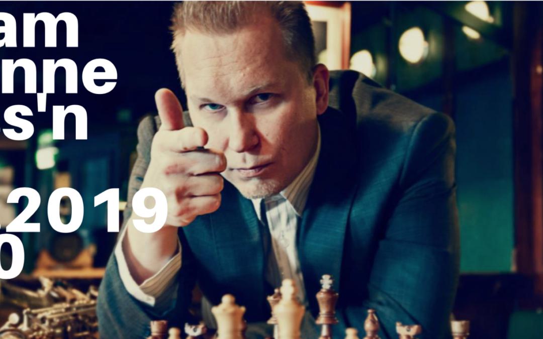 Chess'n Jazz G-Livelabissä Helsingissä 27.2.