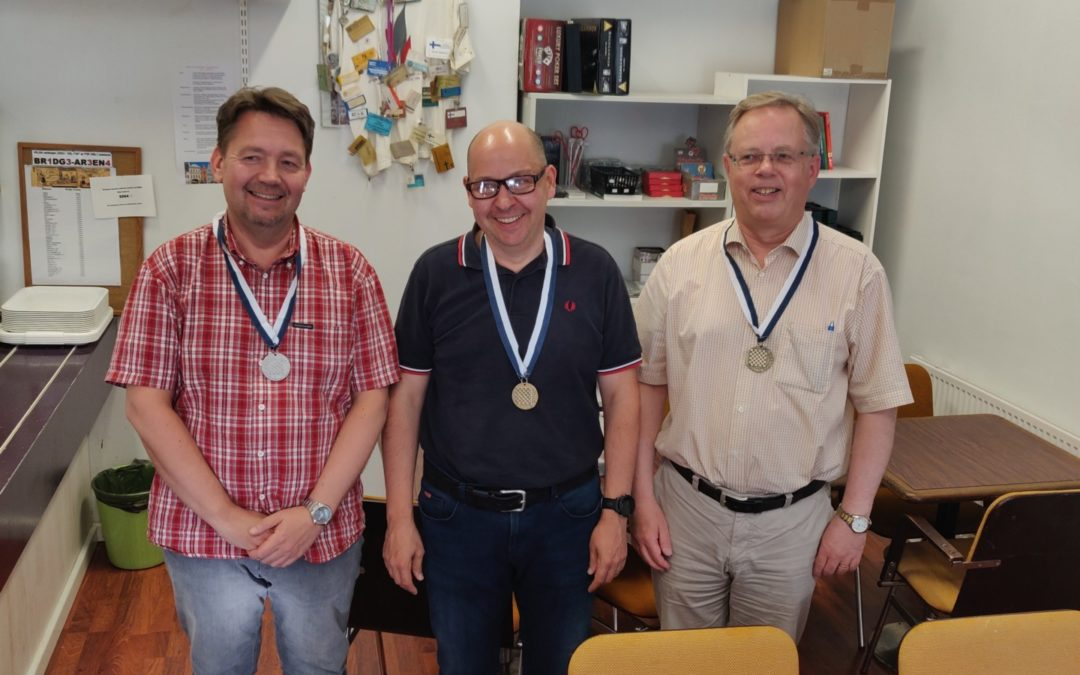 Petri Kopsa voitti maksimilla 50+-seniorien SM:n, Juha Mäki oli toinen ja Tom Smeds kolmas