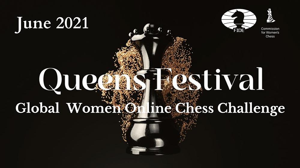 Queens Festival – kansainvälinen naisten pikashakkiturnaus verkossa